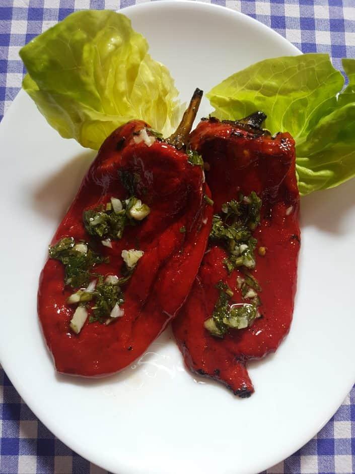 Crvena paprika - pecena