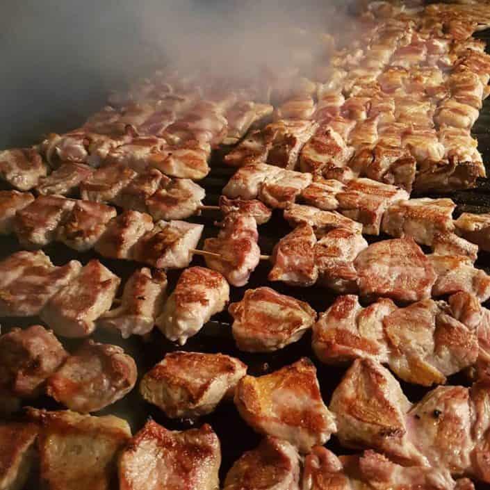 Izbor mesa na rostilju