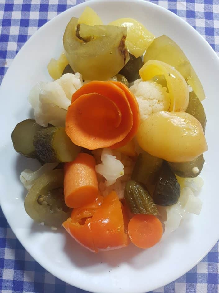 Mesana salata iz tursije